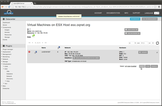 Open Source IaaS Cloud and infrastructure orchestration